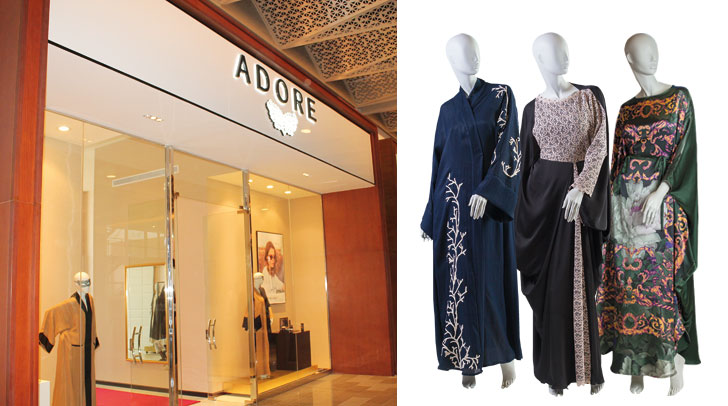 Shopping boutiques adore boutique discover dubai for Boutique spa dubai