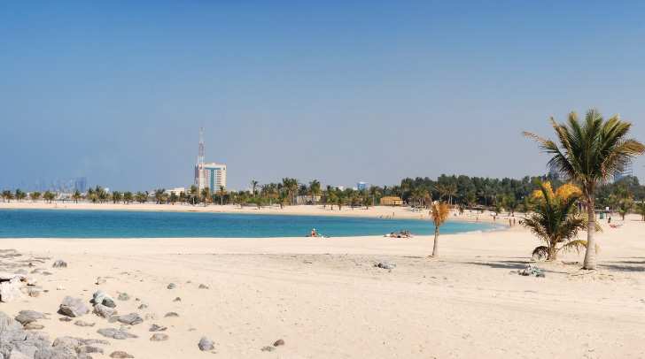 Sights And Attractions Beach Parks Al Mamzar Beach Park Discover Dubai